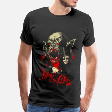 Rosario Vampire Vampire - The blood in the life awesome t-shirt - Men's Premium T-Shirt