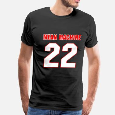 Dark Comedy Mean Machine Dark - Men's Premium T-Shirt