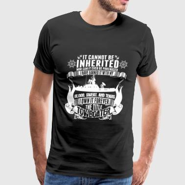 It Cannot Be Inherited Nor Can It Ever Be Purcha - Men's Premium T-Shirt