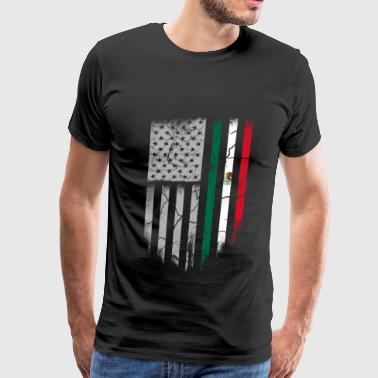Mexican roots-Mexican roots t-shirt for america - Men's Premium T-Shirt