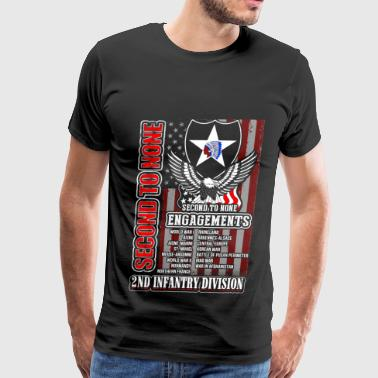 2nd Infantry division - Second to none engagements - Men's Premium T-Shirt