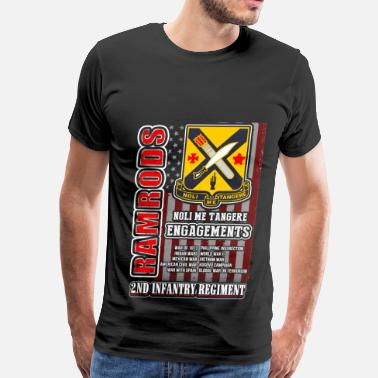 Divi 2nd Infantry regiment t-shirt for American - Men's Premium T-Shirt