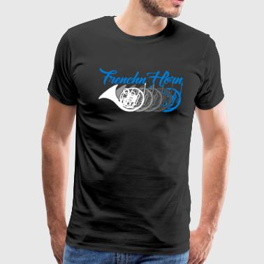 French Horn Shirt - Men's Premium T-Shirt