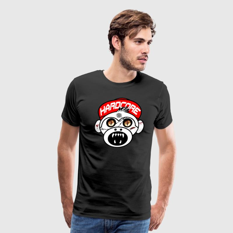 Hardcore Monkey - Men's Premium T-Shirt