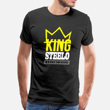 Capital Steez Capital STEEZ KING STEELO - Men's Premium T-Shirt