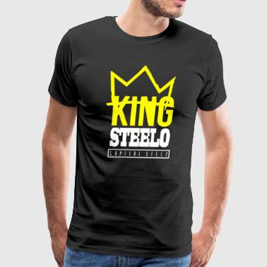 Capital STEEZ KING STEELO - Men's Premium T-Shirt