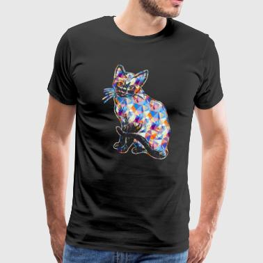 Siamese Cats Siamese Cat Tee Shirt - Men's Premium T-Shirt