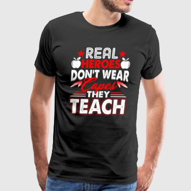 Teacher Hero Teacher Tee Shirt - Men's Premium T-Shirt