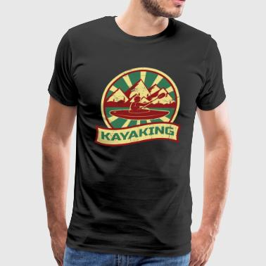Kayaking Propaganda - Men's Premium T-Shirt