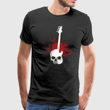 Bassist Skull Bass - Men's Premium T-Shirt