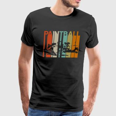 Paintball Paintball woodsball speedball outdoor sport - Men's Premium T-Shirt