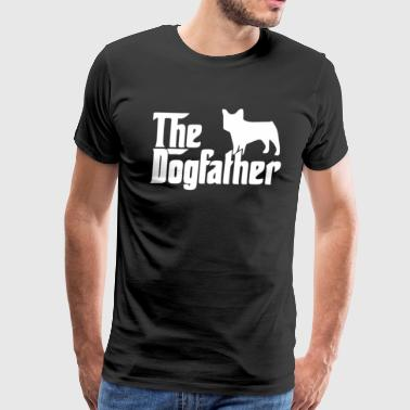 The Dogfather French Bulldog - Men's Premium T-Shirt