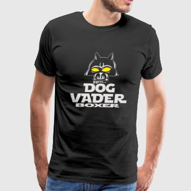 Dog Vader Boxer - Men's Premium T-Shirt