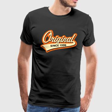 Original Since 1996 (Year Of Birth, Birthday, 3C) - Men's Premium T-Shirt