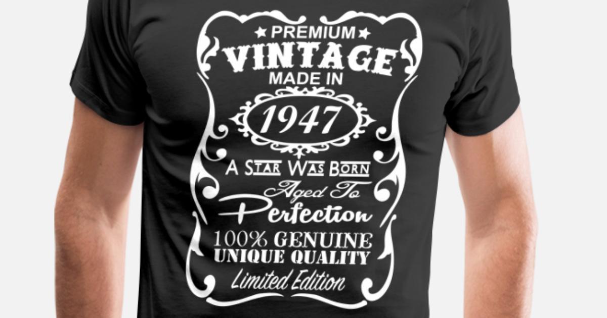 70th Birthday Gift Ideas For Men S Premium T Shirt Spreadshirt