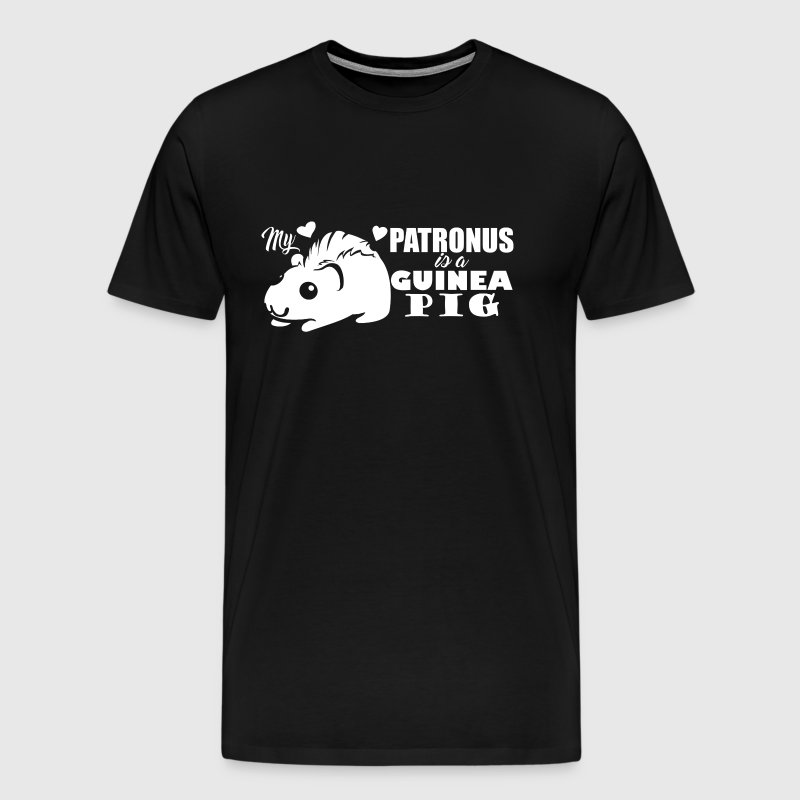 My Patronus Is A Guinea Pig - Men's Premium T-Shirt