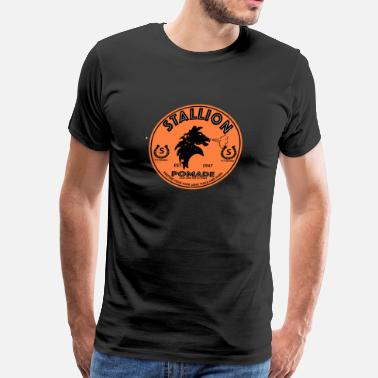 Stallion stallion pomade - Men's Premium T-Shirt