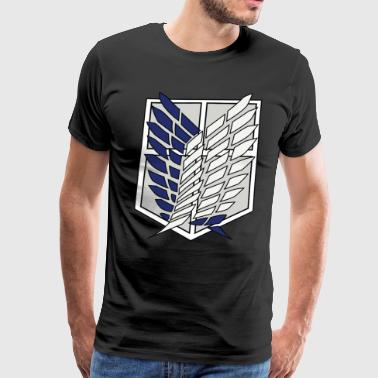 Attack On Titan attack on titan - Men's Premium T-Shirt