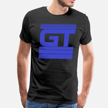 Sport Gymtastic - GT - Stripes - blue - Gymwear - Men's Premium T-Shirt