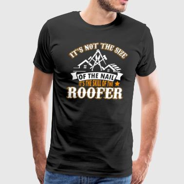 Roofer Funny Roofer T Shirt - Men's Premium T-Shirt