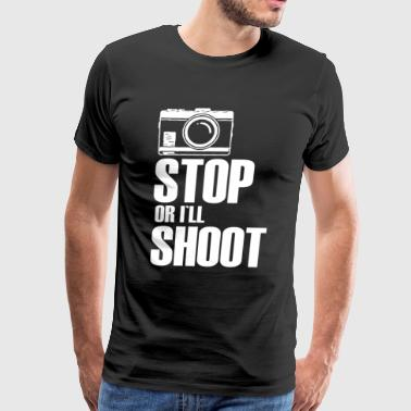 Funny Photography Funny Photography Shirt Funny T shirt - Men's Premium T-Shirt