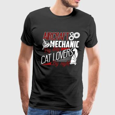 Aircraft Mechanic By Day Shirt - Men's Premium T-Shirt