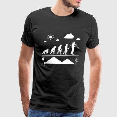 Trombone Evolution Shirt - Men's Premium T-Shirt