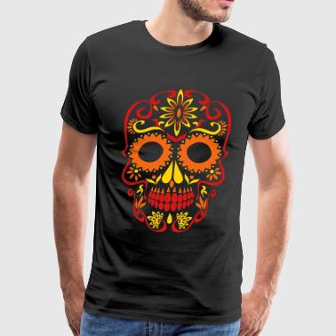Day Of The Dead sugar skull day of the dead - Men's Premium T-Shirt