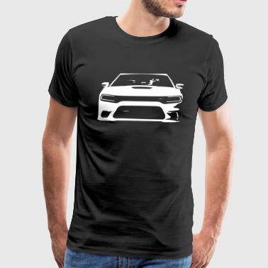 Dodge Srt White SRT - Men's Premium T-Shirt