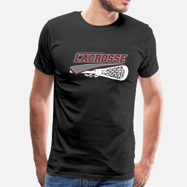 Youth Lacrosse - Men's Premium T-Shirt