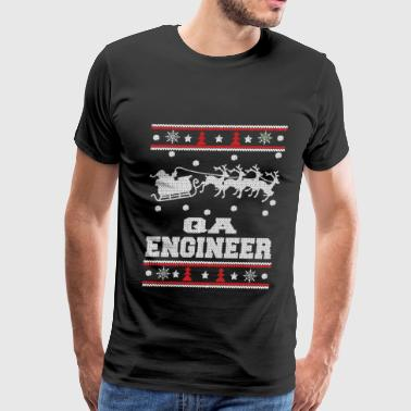 Funny Tf2 Scout Sayings QA engineer-Engineer Christmas sweater - Men's Premium T-Shirt