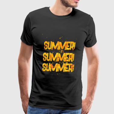 summer summer summer 2 - Men's Premium T-Shirt