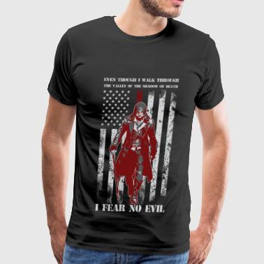 Supernatural Funny I fear no evil - Walk through valley of the death - Men's Premium T-Shirt