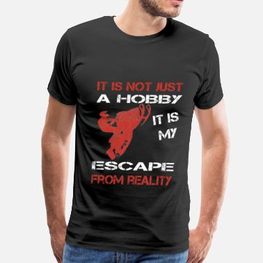 Jet Ski Baby Snowmobile-It is my escape from reality - Men's Premium T-Shirt