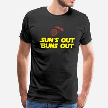 Buns Out Sun's Out Buns Out - Men's Premium T-Shirt