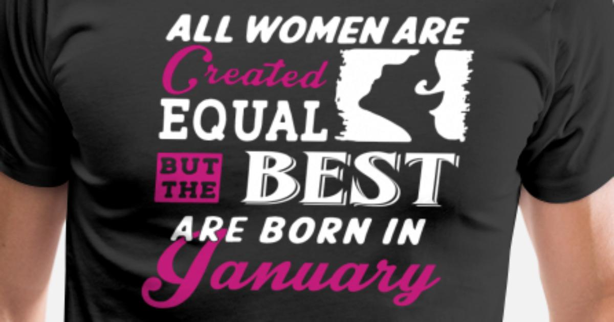 Woman January Birthday T Shirt By Kamikaza