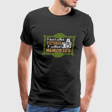 Photography quote T-shirt design - Men's Premium T-Shirt