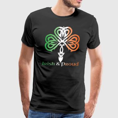Irish and Proud Tshirt - Men's Premium T-Shirt