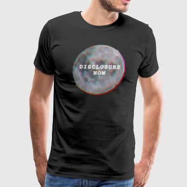 Disclosure Now Glitch Moon - Men's Premium T-Shirt