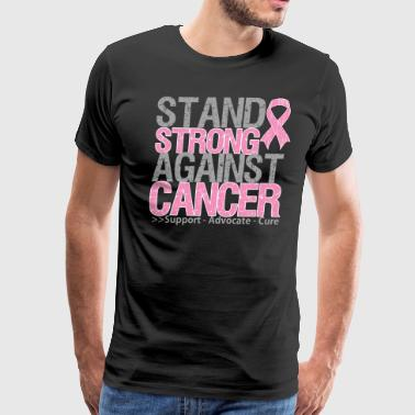 Stand Strong Breast Cancer - Men's Premium T-Shirt