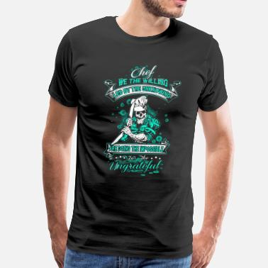 Led Zeppelin Chef we the willing led by the unknowing - Men's Premium T-Shirt