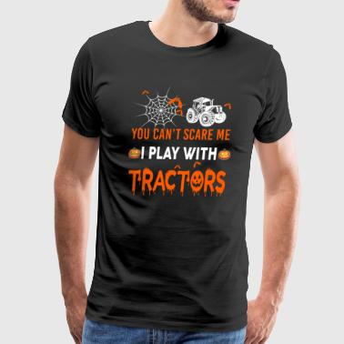 Tractor I Play With Tractors - Men's Premium T-Shirt