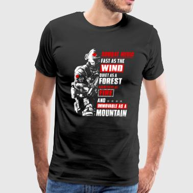 Fast As The Wind Quiet Combat Medic - Men's Premium T-Shirt