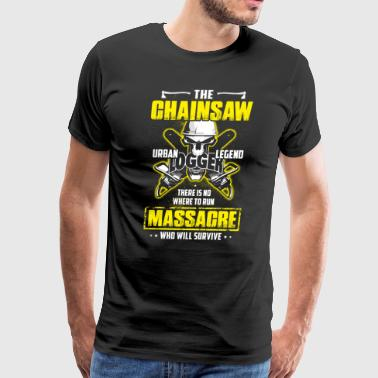 The Chainsaw Urban-Legend - Men's Premium T-Shirt