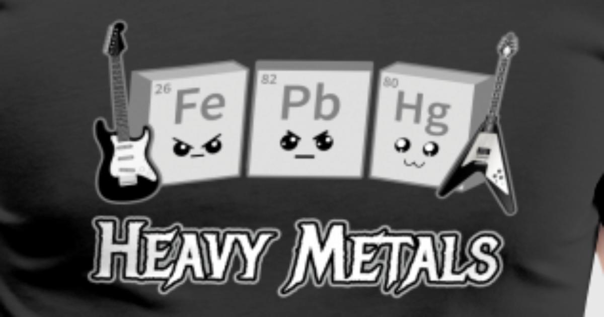 Heavy metals periodic table of elements by designeclipseus heavy metals periodic table of elements by designeclipseus spreadshirt urtaz Gallery