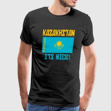 Kazakhstan - Its Nice! - Men's Premium T-Shirt