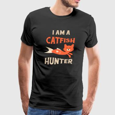 Catfishing for Men Catfish Fishing Fisherman - Men's Premium T-Shirt