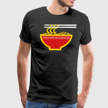 Japanese Noodles Noodles - Men's Premium T-Shirt