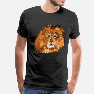 Lion Dog Lion - Men's Premium T-Shirt