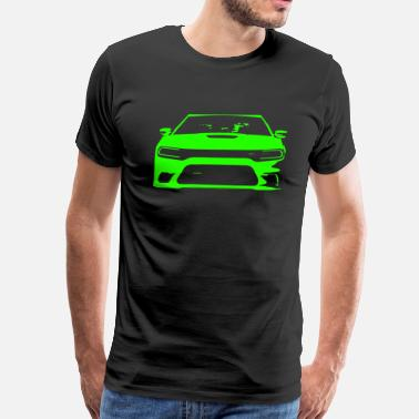 Srt8 GoGreen SRT Charger - Men's Premium T-Shirt